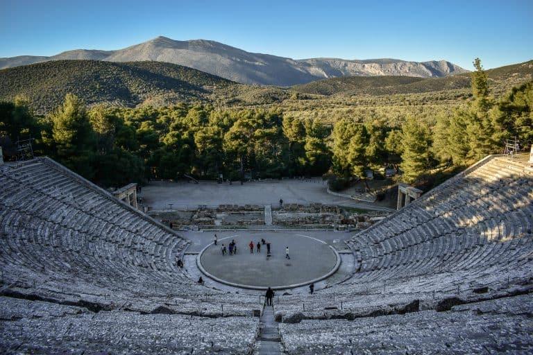 Teatro de Epidauro: remoto lugar con la mejor acústica del mundo