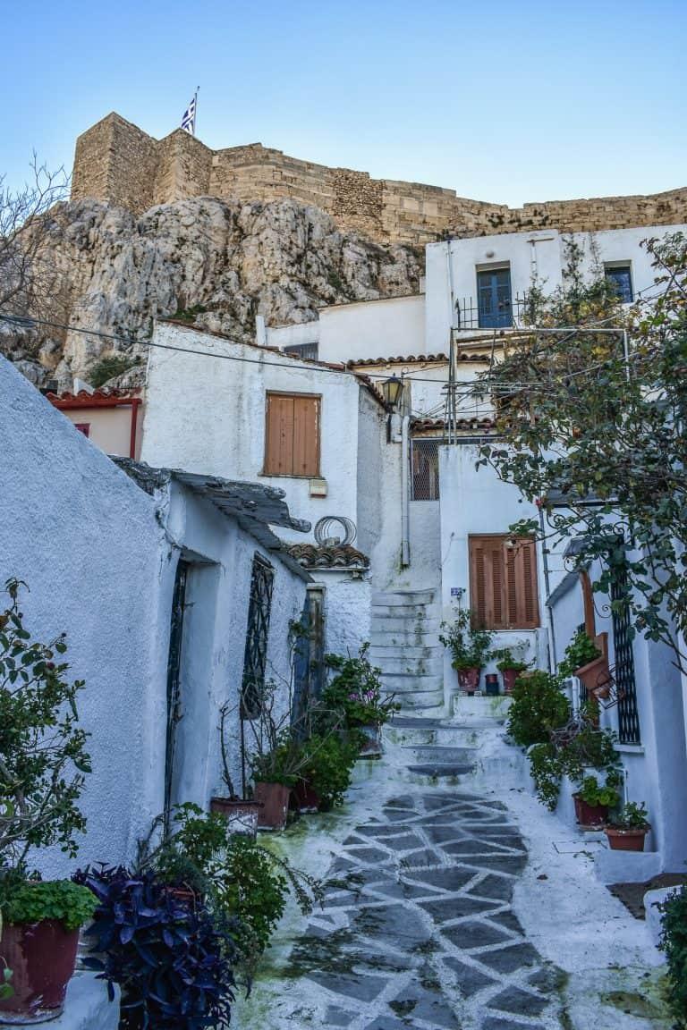 Anafiotika en Atenas: una falsa isla en un falso mar