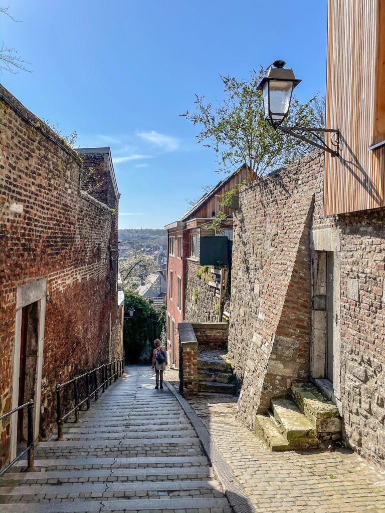 Centro histórico Lieja Terrasses des Minimes