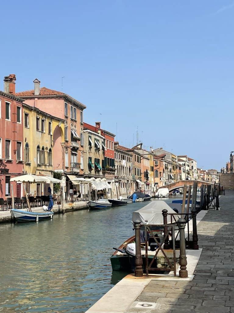 Canal de la Misericordia, Cannaregio, Venecia